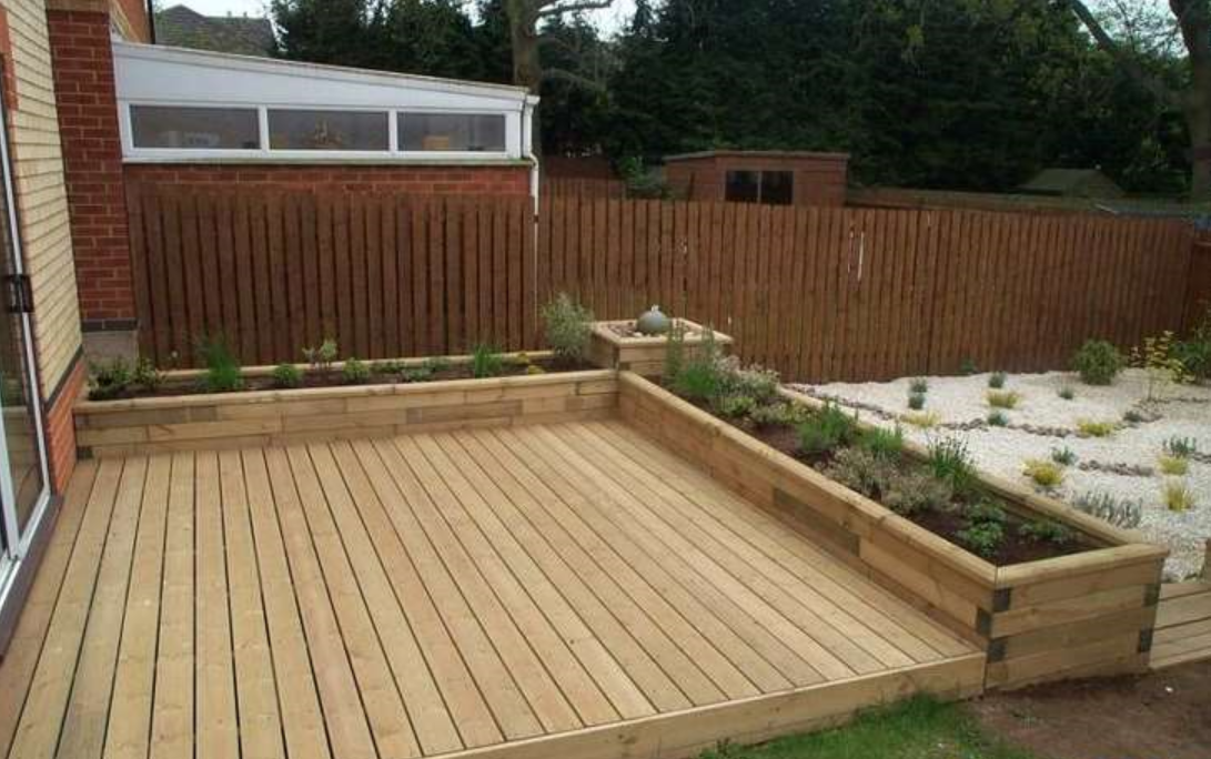 Wooden Small Deck